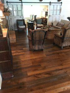 DuChateau Reclaim Glue Down Wood Floor