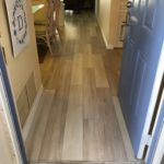 Englewood Aqua Floor Plus Oak Everest Waterproof Flooring. Acoustical Padding Attached